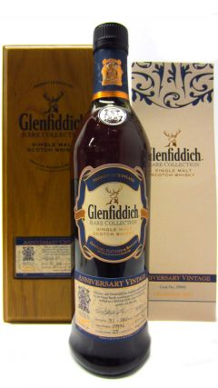 Glenfiddich - Rare Collection Anniversary Vintage - 1987 25 year old Whisky