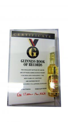 Multiple Distillery Packs - Worlds Smallest Whisky Bottle + Certificate Whisky