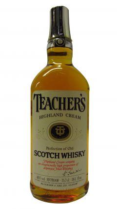 Teacher's - Highland Cream (1970's bottling) Whisky