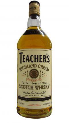 Teacher's - Highland Cream (1980's bottling) Whisky