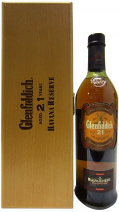 Glenfiddich - Havana Reserve Wooden Box Edition 21 year old Whisky