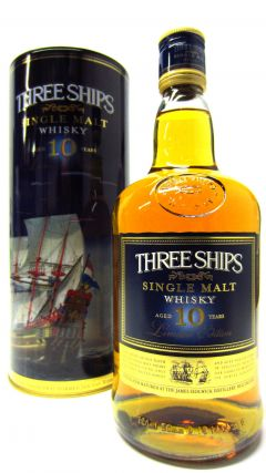 James Sedgwick - Three Ships Ltd Edition African Single Malt 10 year old Whisky