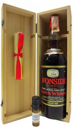 Glenlivet - Pure Highland Malt - 1938 35 year old Whisky