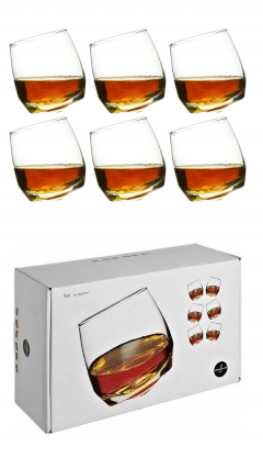 Sagaform Rocking Whisky Glass (Pack of 6)