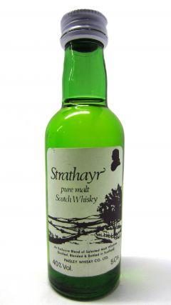 Blended Malt - Strathayr Pure Malt Scotch Miniature Whisky