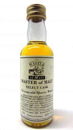 Secret Speyside - Master Of Malt Select Cask Miniature 12 year old Whisky