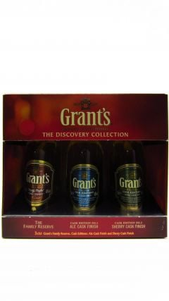 William Grant's - Grant's The Discovery Collection Miniature Gift Set Whisky