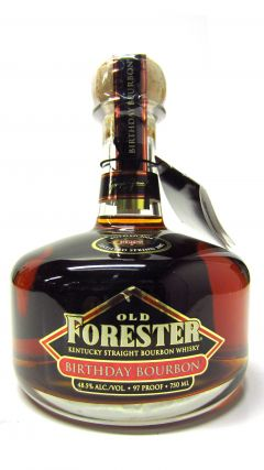 Old Forester - Birthday Bourbon - 1997 12 year old Whiskey