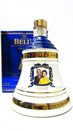 Bells - Decanter Queens 50th Golden Wedding Anniversary 8 year old Whisky