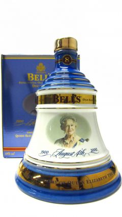 Bells - Queen Mother 100th Birthday Decanter 8 year old Whisky