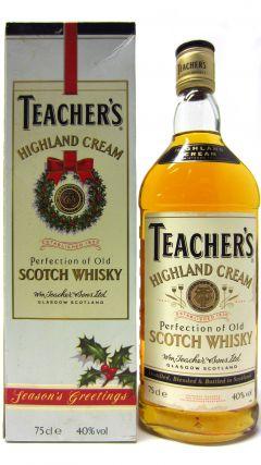 Teacher's - Season's Greeting Highland Cream Whisky