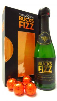 Champagne - Bucks Fizz & Swiss Chocolate Truffles Gift Set Whisky