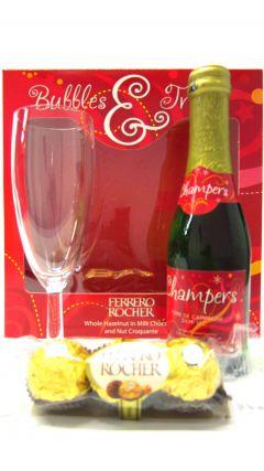 Champagne - Ferrero Rocher, Champagne & Glass Gift Set Whisky