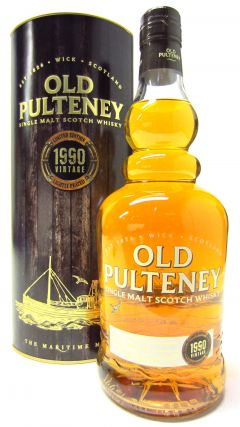 Old Pulteney - Lightly Peated - 1990 23 year old Whisky