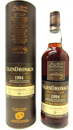 GlenDronach - Single Cask #67 (UK Exclusive) - 1994 19 year old Whisky