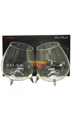 Final Touch Relax Cognac / Brandy / Whisky Glasses with Legs (Pack of 2)