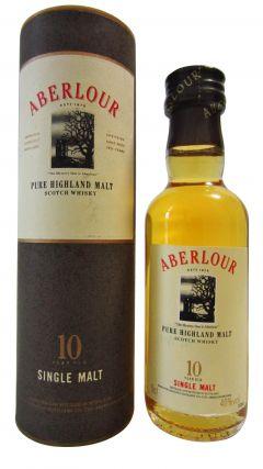 Aberlour - Pure Highland Malt Miniature 10 year old Whisky