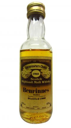 Benrinnes - Connoisseurs Choice Miniature - 1968 Whisky