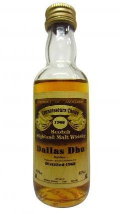Dallas Dhu (silent) - Connoisseurs Choice Miniature - 1968 Whisky