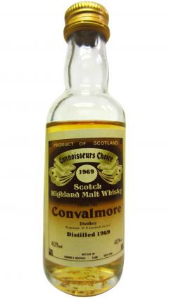 Convalmore (silent) - Connoisseurs Choice Miniature - 1969 Whisky