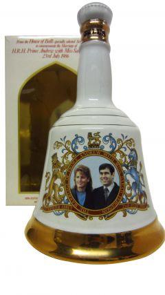 Bells - Decanter Prince Andrew & Sarah Ferguson Whisky
