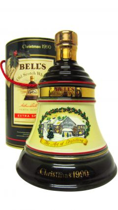 Bells - Decanter Christmas 1990 8 year old Whisky