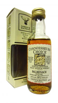 Balmenach - Connoisseurs Choice Miniature - 1972 Whisky