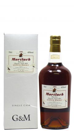 Mortlach - Rare Old Speyside Single Malt - 1991 Whisky
