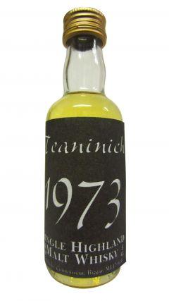 Teaninich - The Whisky Connoissieur Miniature - 1973 Whisky