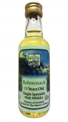 Balmenach - Single Speyside Miniature 11 year old Whisky