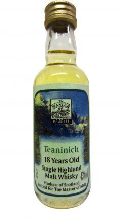Teaninich - Single Highland Malt Miniature 18 year old Whisky