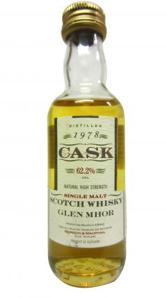 Glen Mhor (silent) - Cask Strength Miniature - 1978 15 year old Whisky