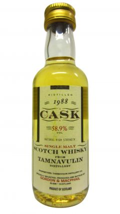 Tamnavulin - Cask Strength Miniature - 1988 8 year old Whisky