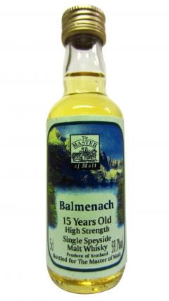 Balmenach - Single Speyside Miniature 15 year old Whisky