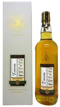 Tormore - Dimensions Single Cask #1590 - 1990 24 year old Whisky