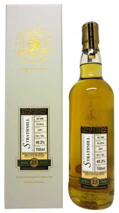 Strathmill - Dimensions Single Cask #4241 - 1990 23 year old Whisky