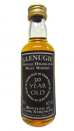 Glenugie (silent) - Single Highland Malt Miniature 30 year old Whisky