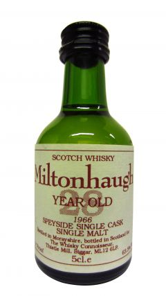 Balmenach - Miltonhaugh Miniature - 1966 28 year old Whisky