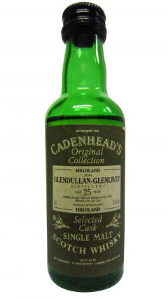 Glendullan - Cadenhead's Original Collection Miniature - 1965 25 year old Whisky