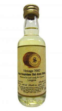 Longmorn - Signatory Vintage Miniature - 1987 8 year old Whisky