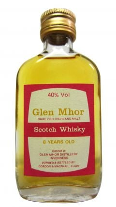 Glen Mhor (silent) - Rare Old Highland Malt Miniature 8 year old Whisky