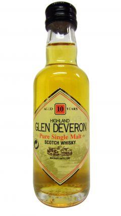 Glen Deveron - Single Highland Malt Miniature 10 year old Whisky