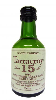 Aultmore - Tarracroy Miniature - 1980 15 year old Whisky