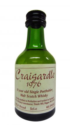 Blair Athol - Craigardle Miniature - 1976 18 year old Whisky
