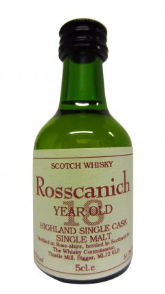 Teaninich - Rosscanich Miniature 18 year old Whisky