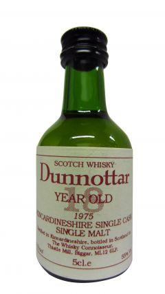 Fettercairn - Dunnottar Cask Strength Miniature - 1975 18 year old Whisky