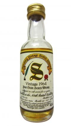 North British - Signatory Vintage Miniature - 1964 26 year old Whisky