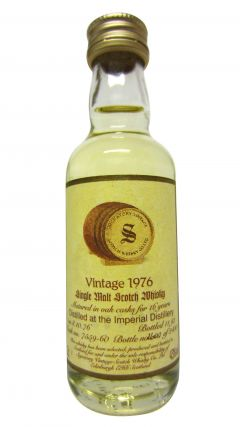 Imperial (silent) - Signatory Vintage Miniature - 1976 16 year old Whisky