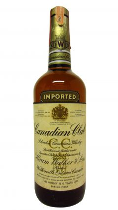 Canadian Club - Blended Canadian 6 year old Whisky