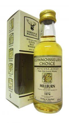 Millburn (silent) - Connoisseurs Choice Miniature - 1974 Whisky